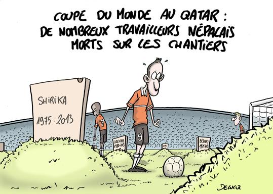 Qatar le mondial de l 39 esclavage a d j d but - Qatar football coupe du monde ...
