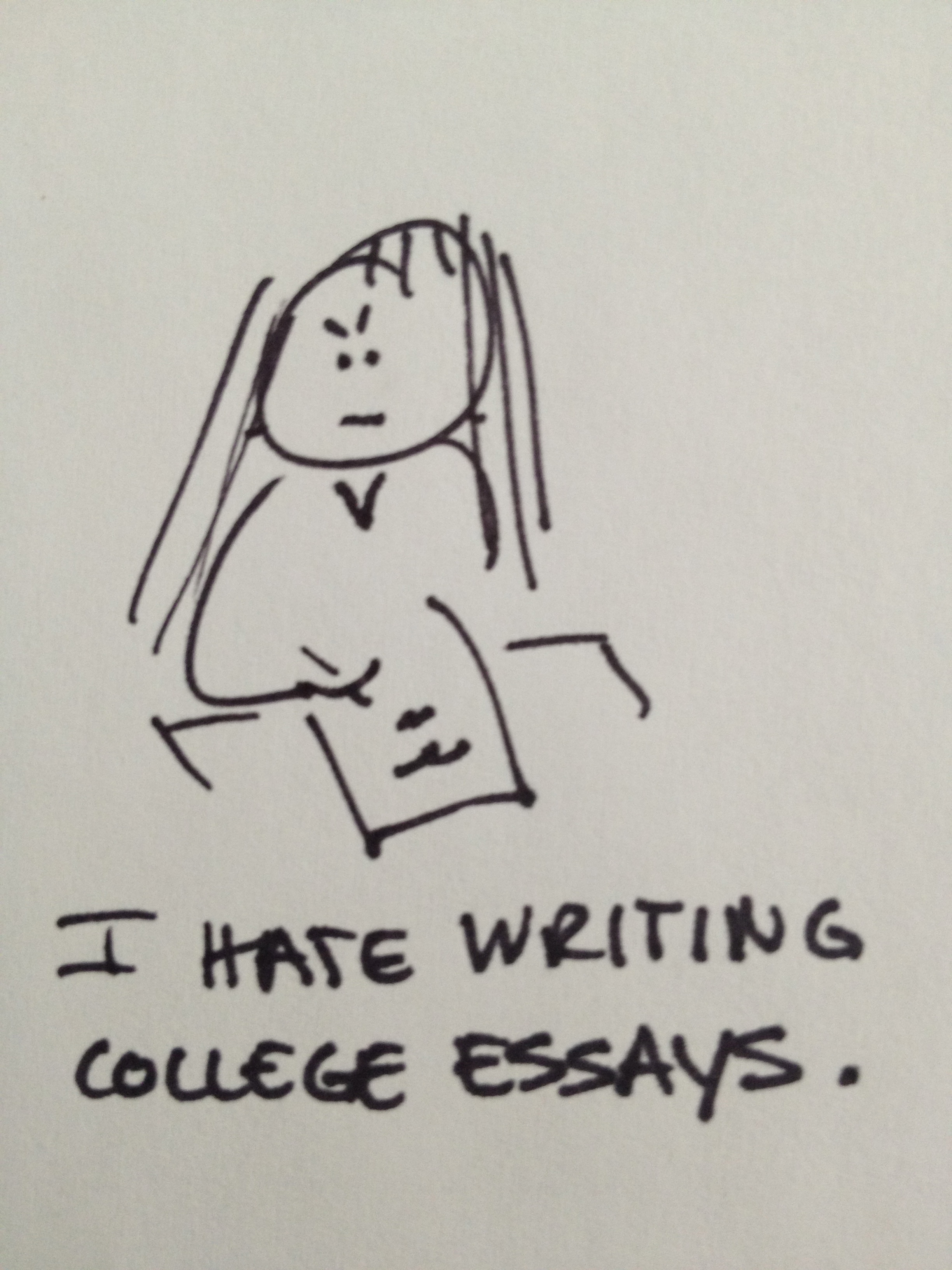 Can anyone offer me some advice on writing a good college admissions essay?