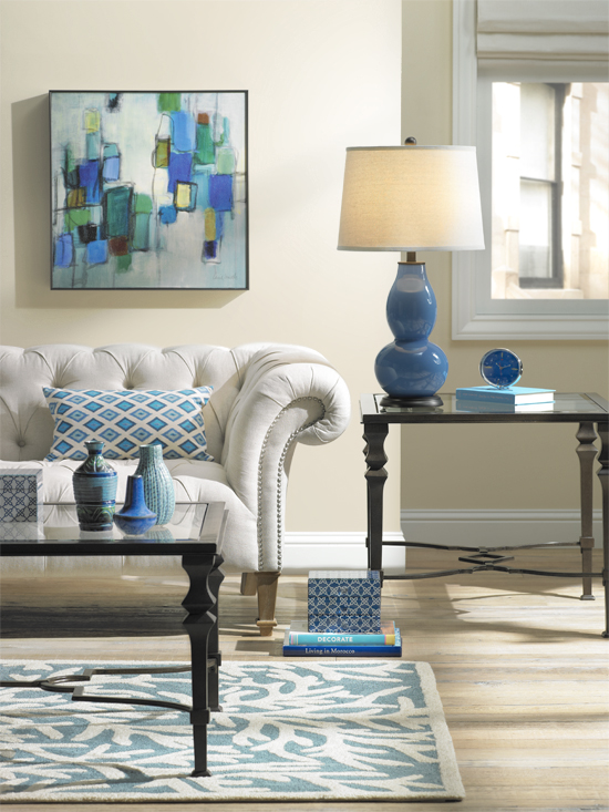 A Colorful Living Room Decorating Idea One Room Three Ways Huffpost