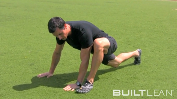 dynamic stretching exercise 1