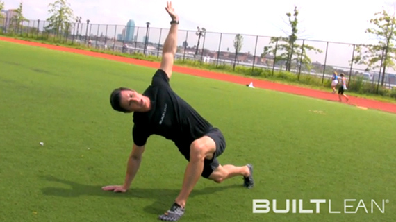 dynamic stretching exercise 2