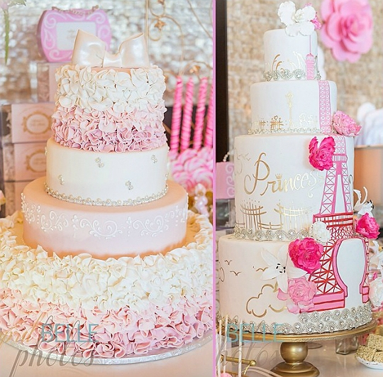 Paris Baby Shower Cake: A Fete Fit For A Queen -- Adrienne Bosh Celebrates Her