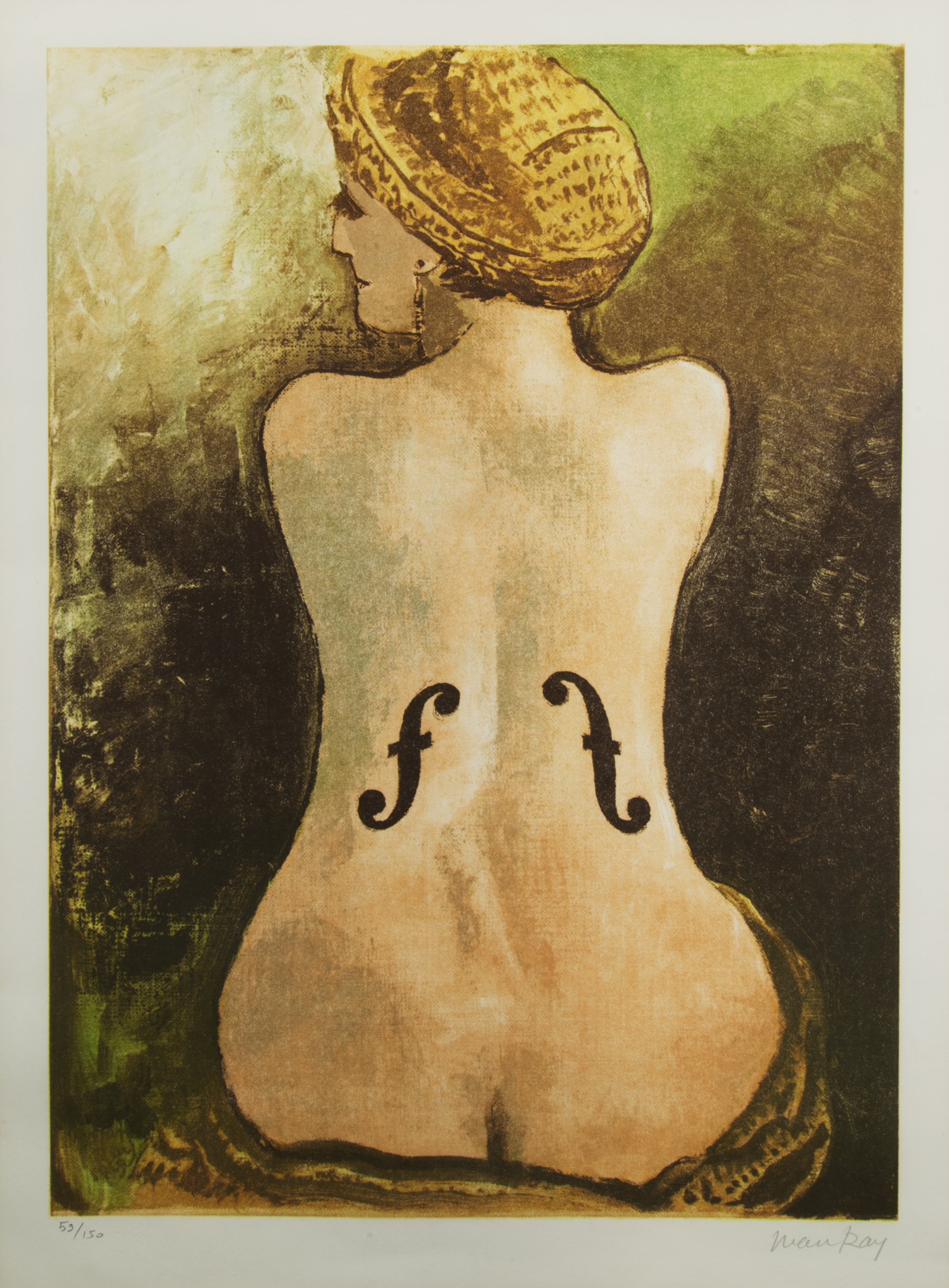 Le Violon d'Ingres by Man Ray, 1924
