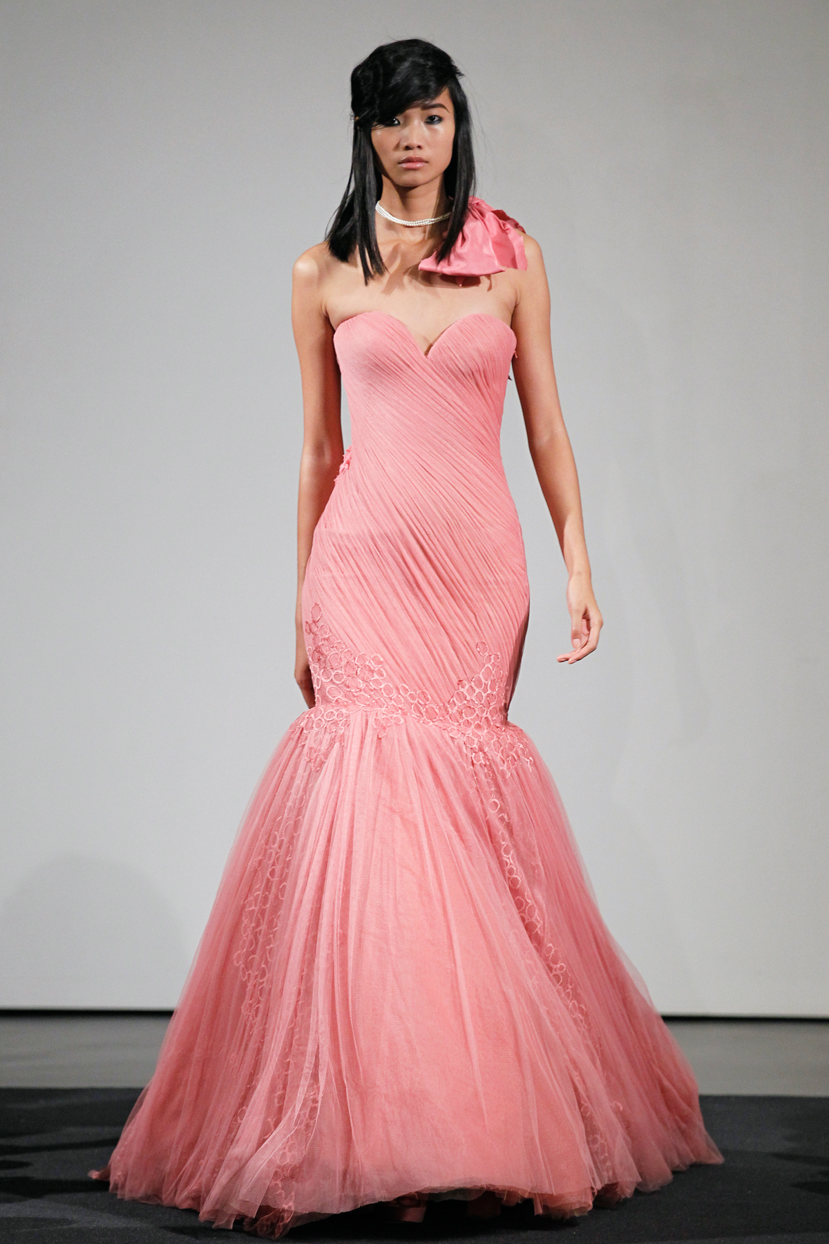 Vera Wang Pink Dress
