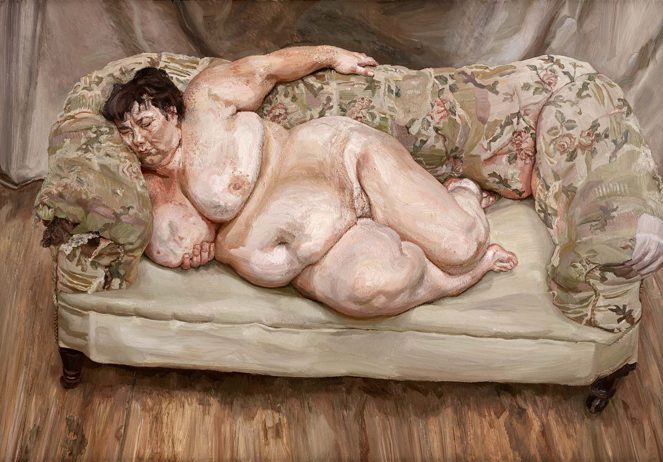 Lucian freud naked portrait are not