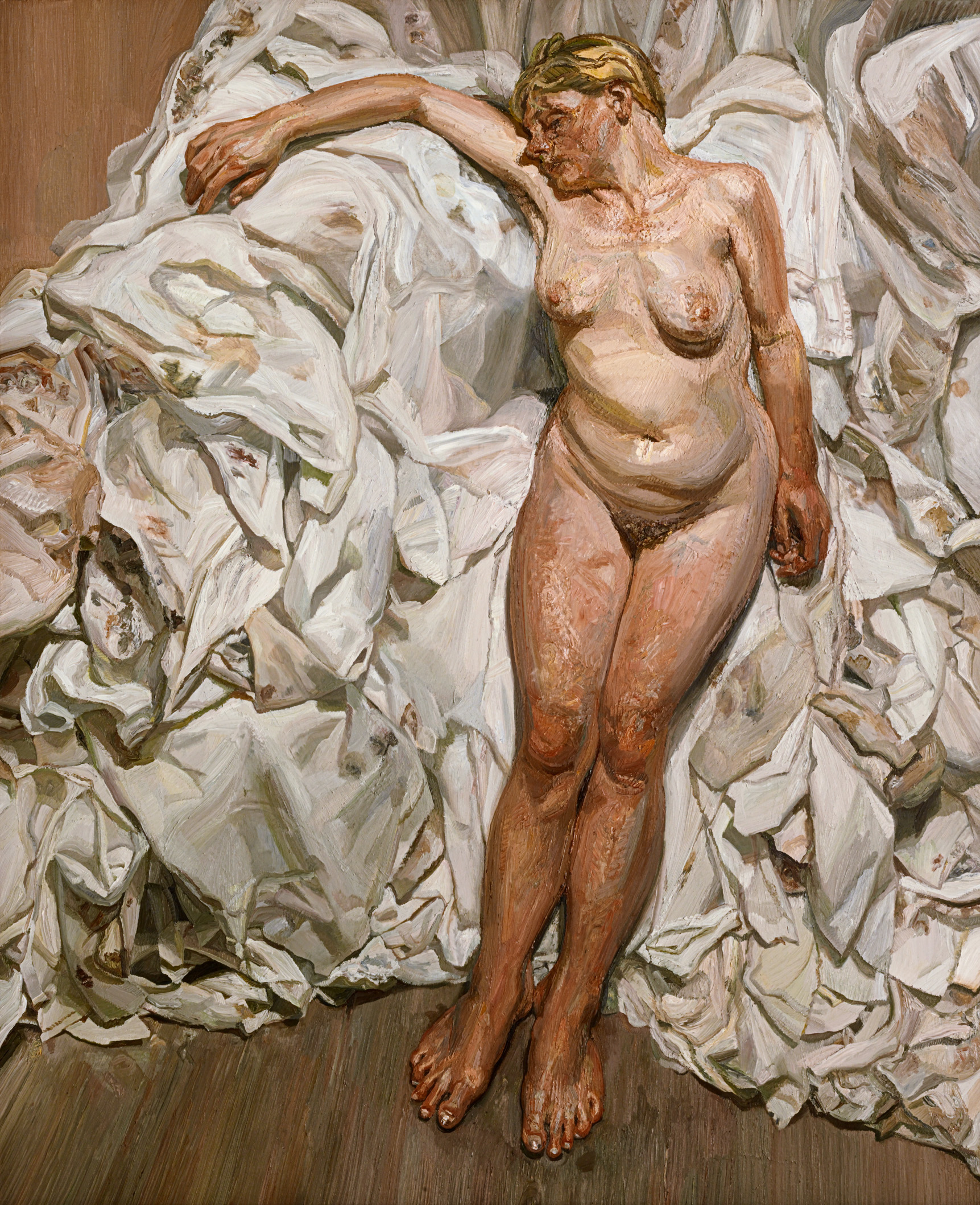 Lucian freud naked portrait certainly. consider