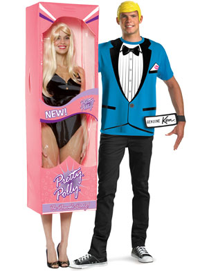 six clever halloween costumes for couples