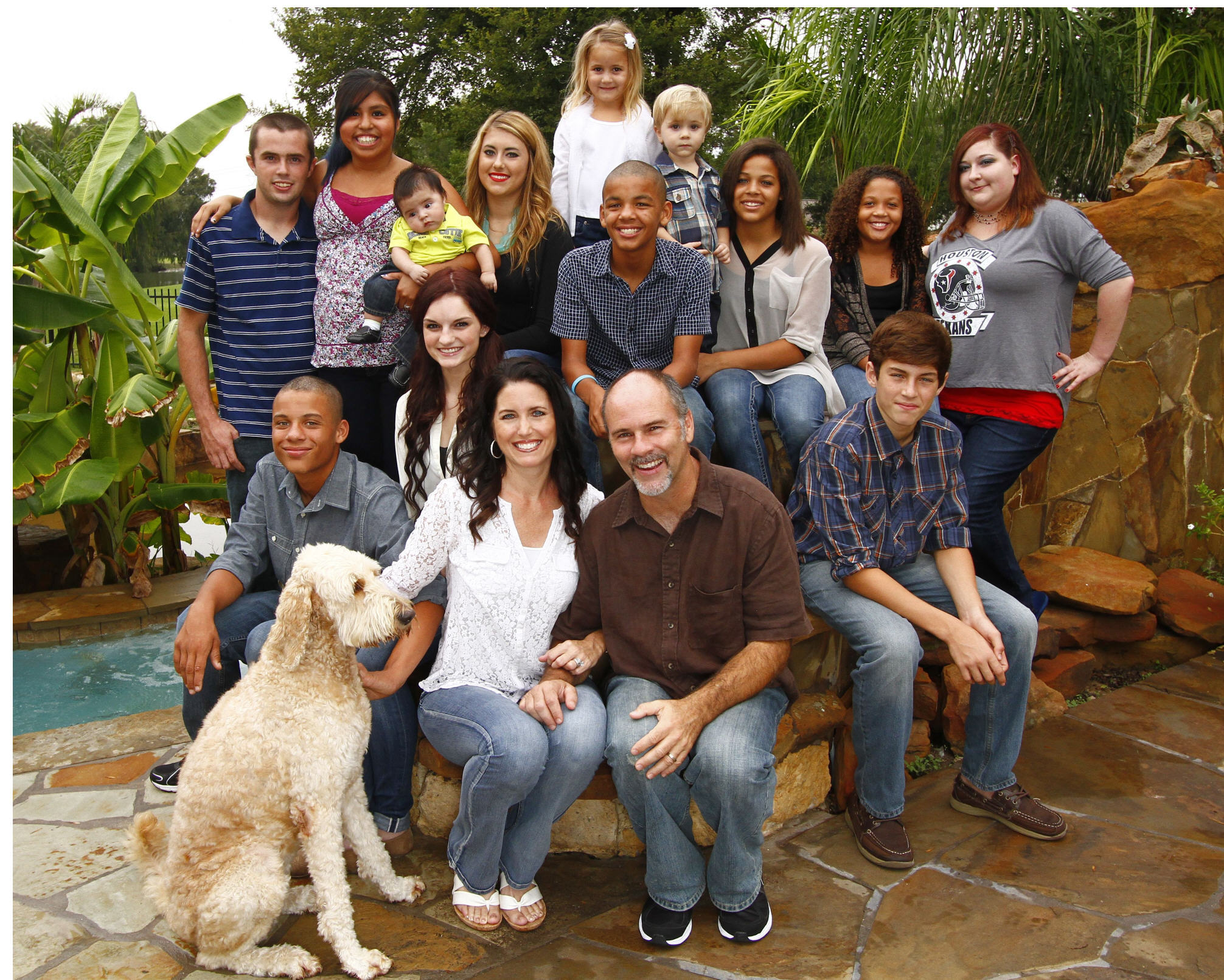 Incredible Blended And Adopted Family Of 11 Children
