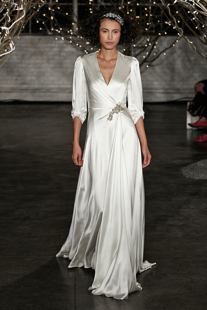 Non-Strapless Wedding Gowns We Love From Bridal Market Fall 2013 ...