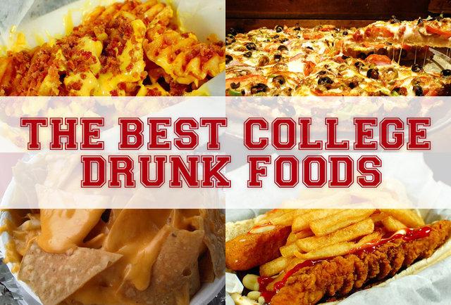 Best Late Night Drunk Food