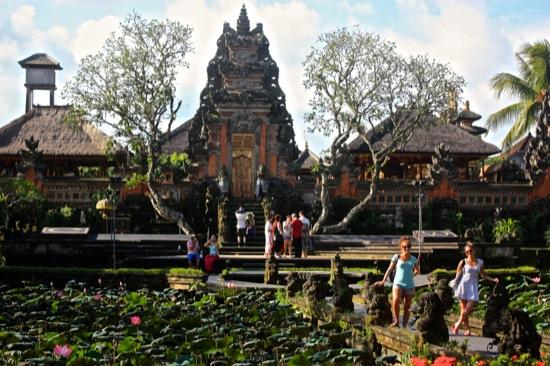 Lotus garden in Ubud