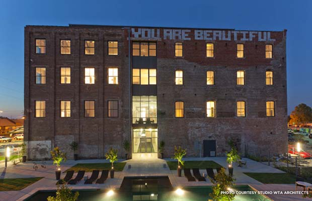 bywater nola 39 s rice mill lofts remixes its industrial past huffpost