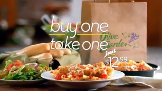 Discount coupons for olive garden restaurants