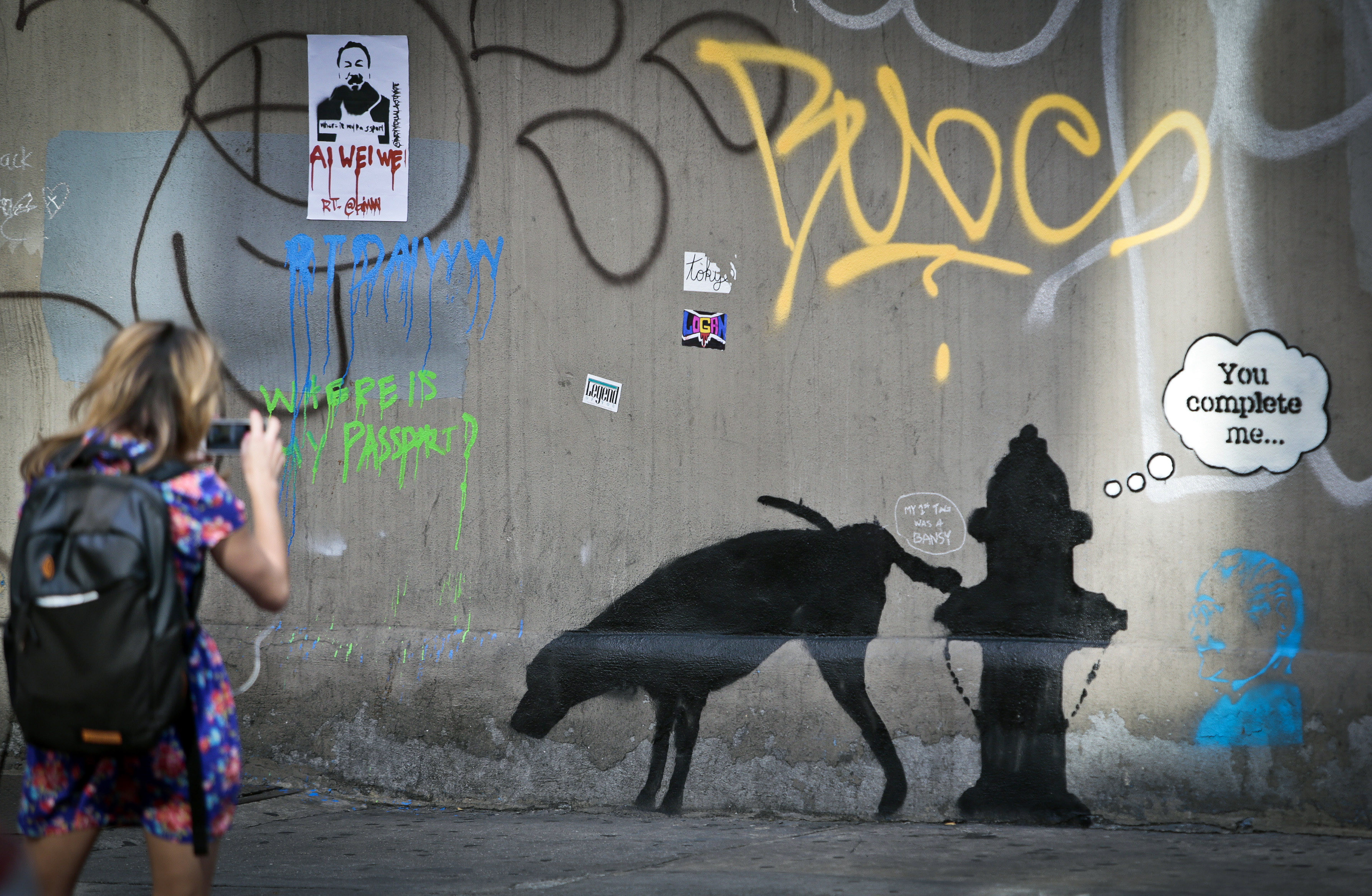 Who is banksy huffpost for Best mural artist