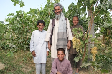 2013-10-31-Grape20farmer20Mohammad20Shafi20with20sons.JPG