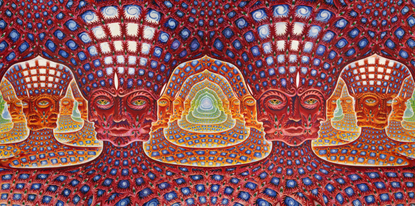 essay about alex grey In fact, alex grey can paint unseen, ghosty things to a degree of potency that can  only  that i am partial to his work, i won't always be easy on him in this essay.