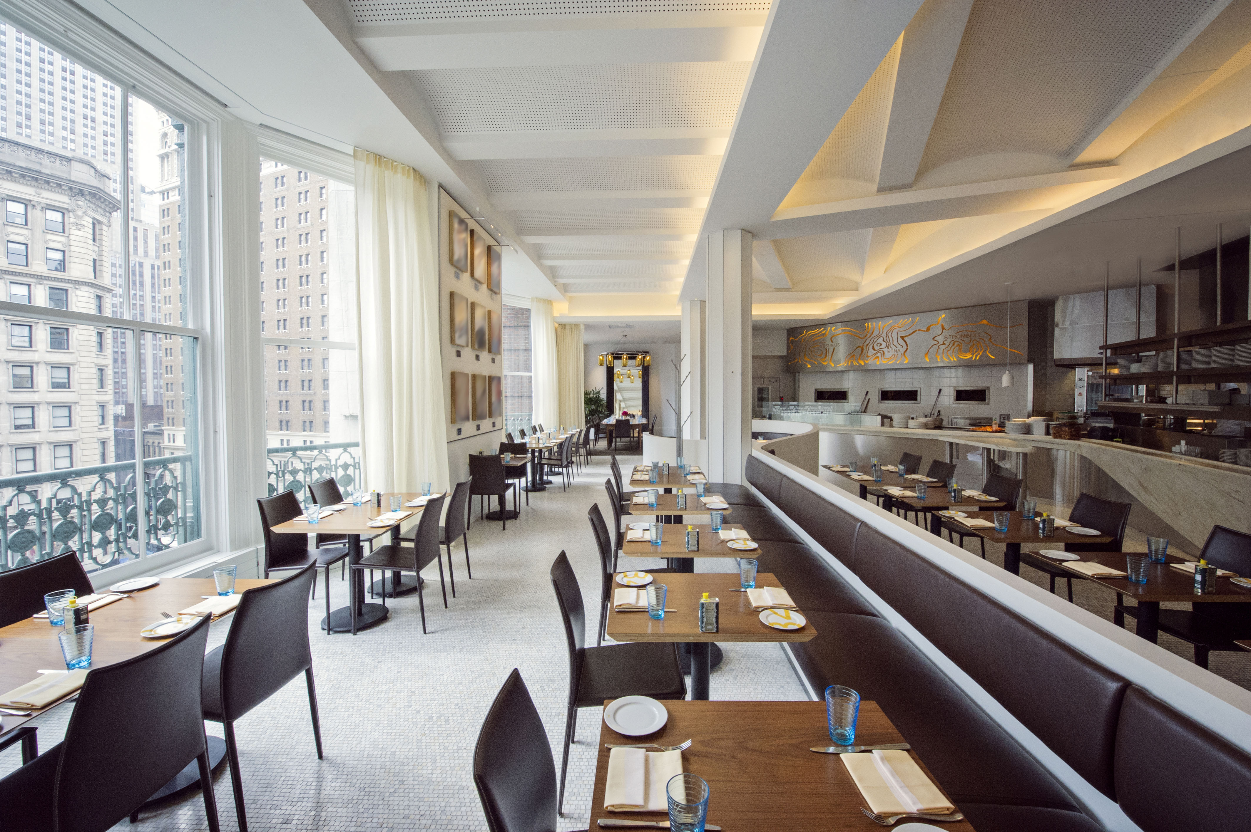 With stella 34 trattoria macy 39 s new york flagship for Stellas fish cafe menu