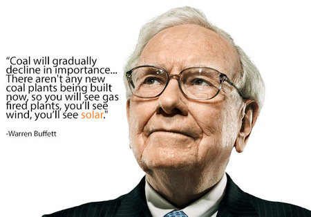 warren buffett solar