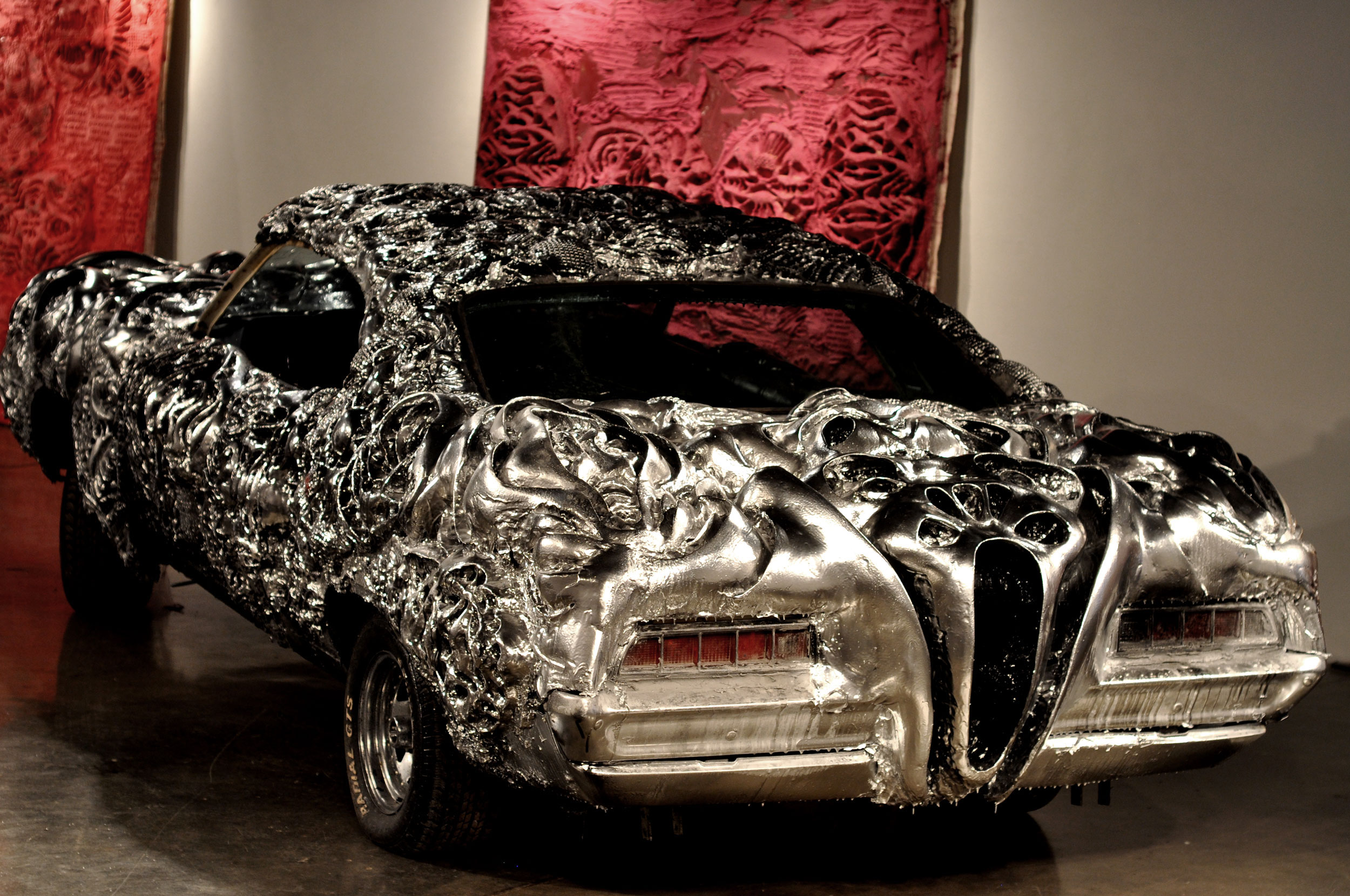 Artist turns 1971 ford into 3d printed masterpiece huffpost for 3d printer house for sale