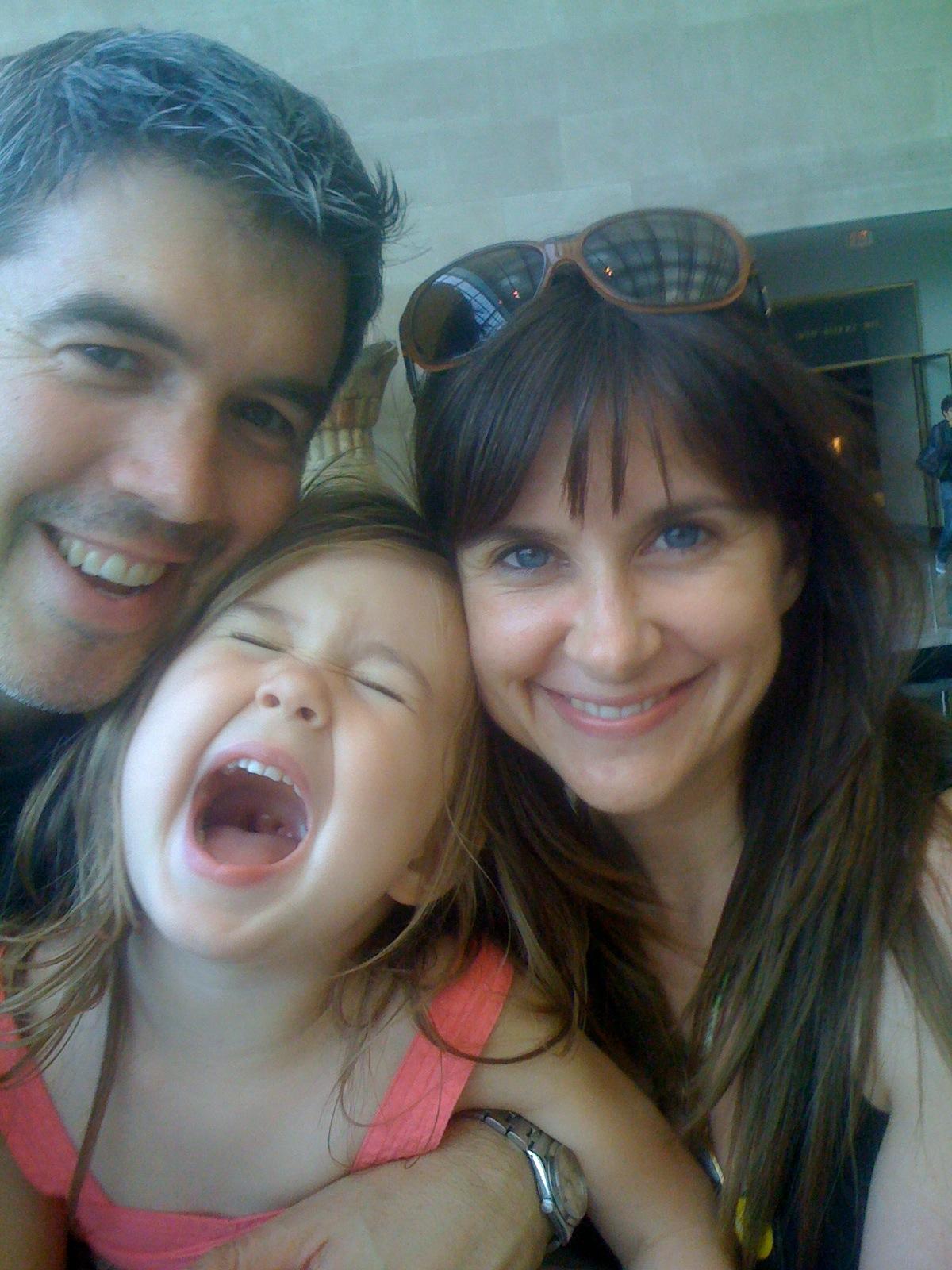 Kellie Martin parents