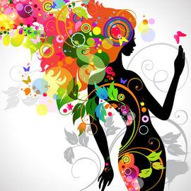 2013-11-13-ColorfulFloralGirlSilhouette.jpg