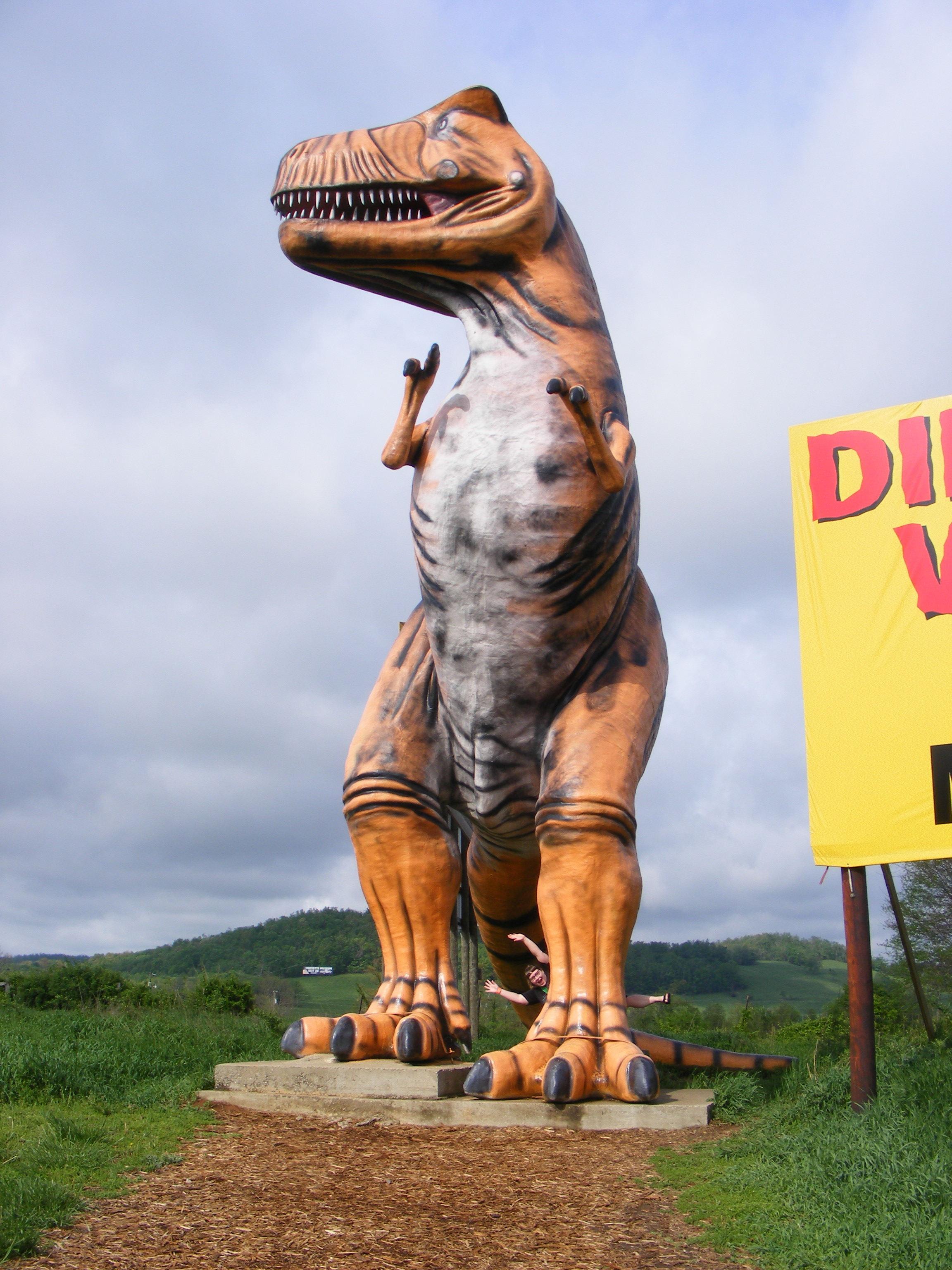 Roadside Dinosaur Parks Huffpost