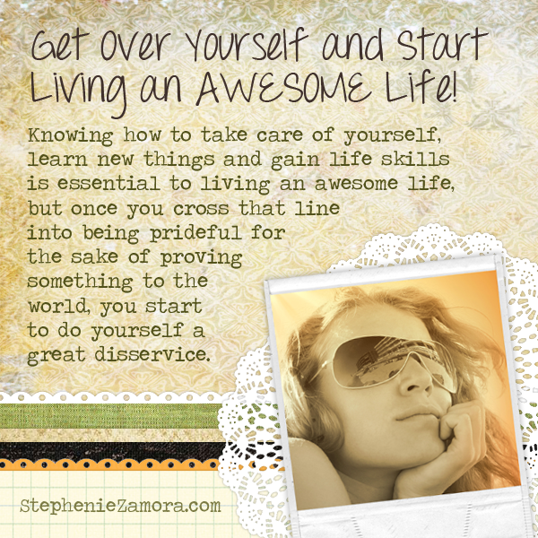 Get over yourself and start living an awesome life huffpost - The house in which life starts over ...