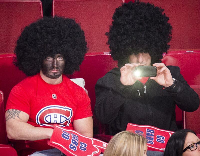 Montreal Theater Portrays Canadiens Pksubban In Blackface Hockey