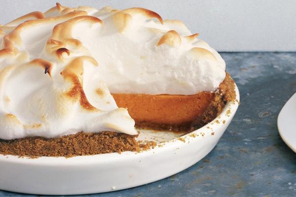 ... Dessert: Sweet Potato Pie With Marshmallow Meringue | Bon Appetit