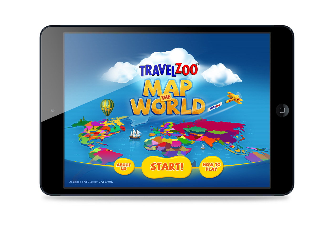 Give Kids The World Map.Travelzoo Launches Free Ipad App To Give Kids In Depth View Of The