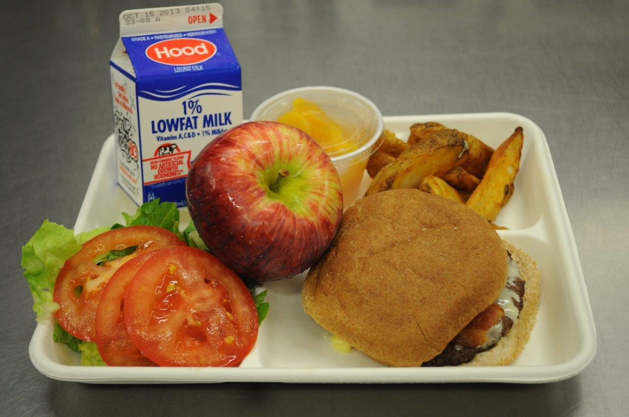 A school meal or school lunch (also known as hot lunch, a school dinner, or school breakfast) is a meal provided to students and sometimes teachers at a school, typically in the middle or beginning of the school .
