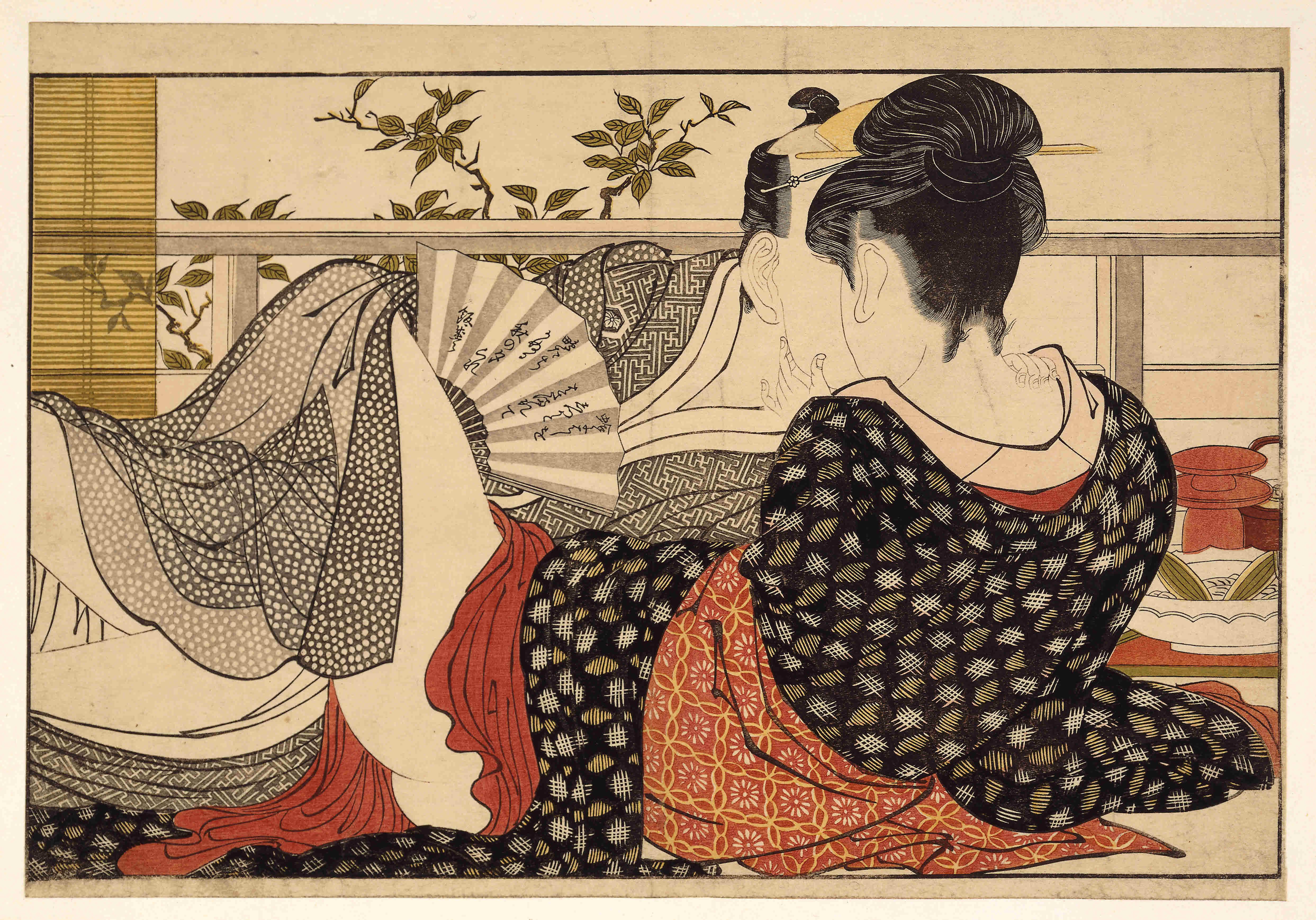 Эротические рисунки японских художников 7 фотография