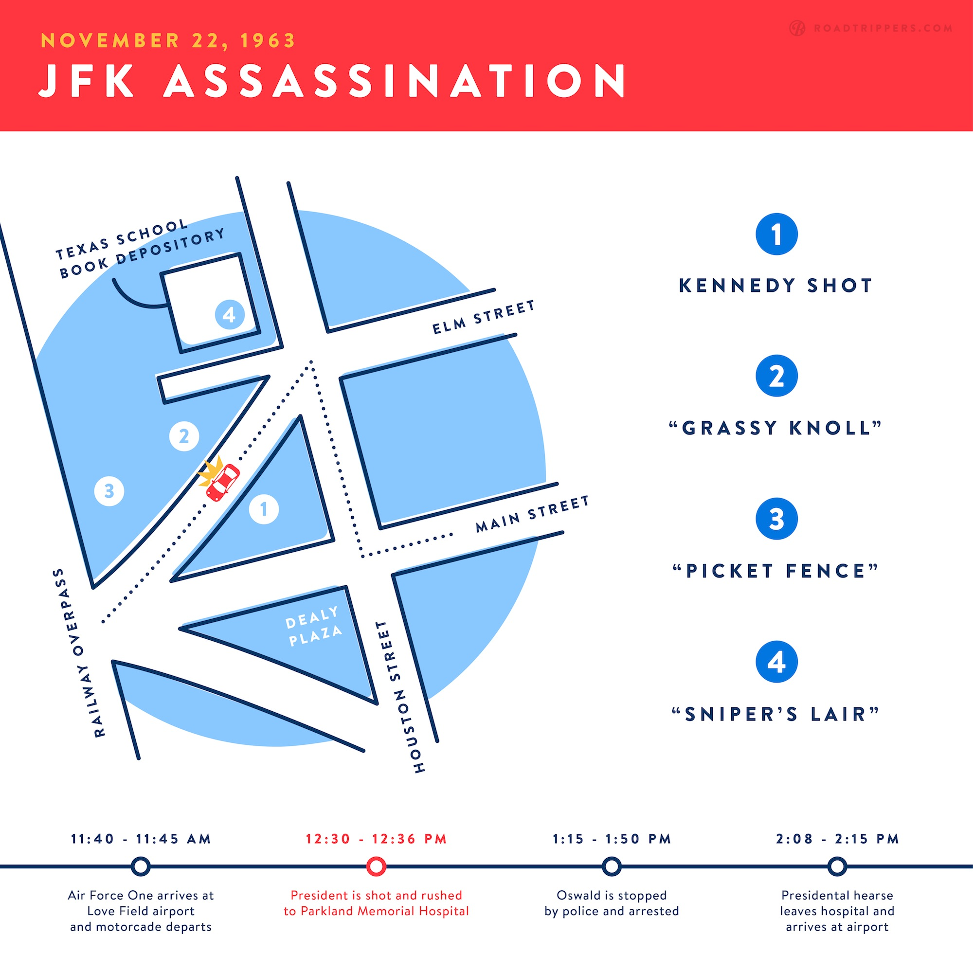 investigate the jfk assassination on this dark tour of dallas