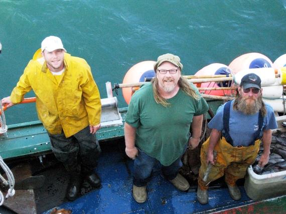 Port Orford Fishing Vessel Goldeneye Crew