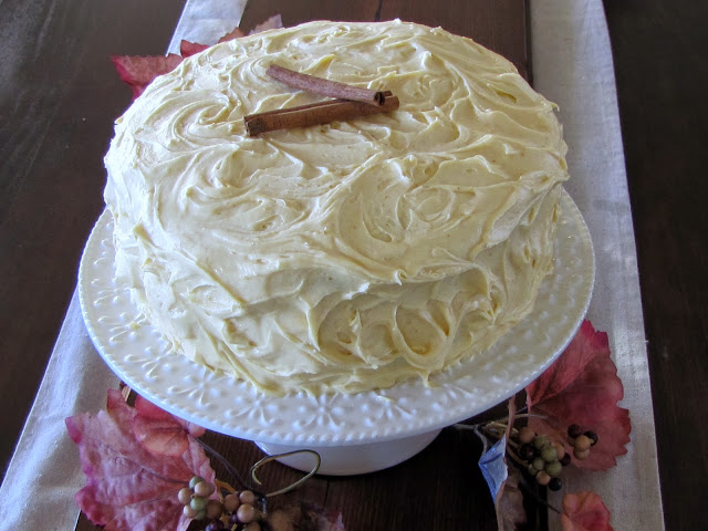 RECIPE: Spiced Pumpkin Layer Cake With Cream Cheese Frosting ...
