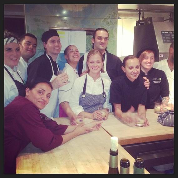 Parallel Post Restaurant Kitchen Team