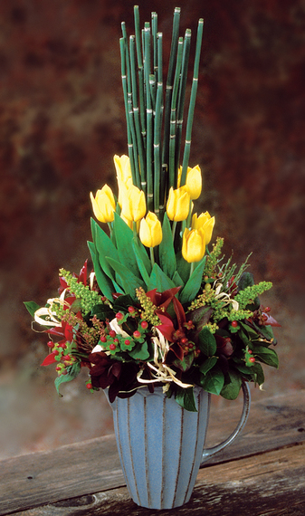 2013-11-26-TulipsYELLOWFallBqt.jpg