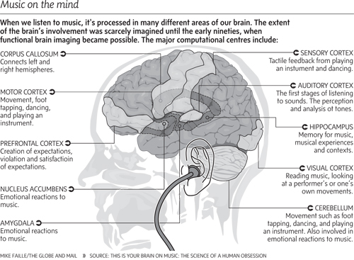 Surprising ways music affects and benefits our brains the