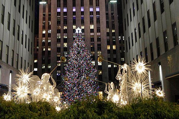 Big Christmas Tree In Nyc