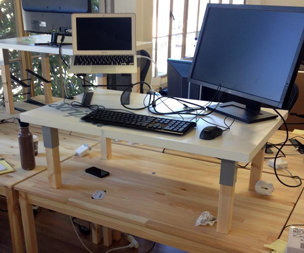 How To Build A Great Standing Desk For Under 50 Huffpost