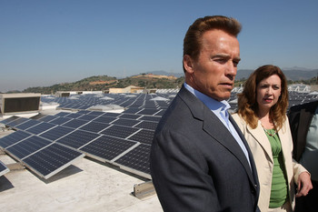 Schwarzenegger solar
