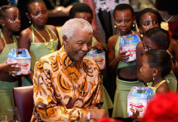 Nelson Mandela On Children Huffpost