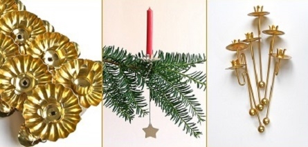 Christmas Tree Candle Holder.Christmas Off The Grid Your Grandparents Were Right