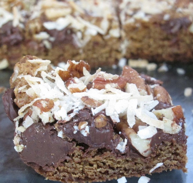 Chocolate Coconut Pecan Bars | The Huffington Post