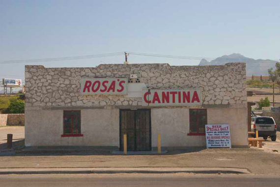 Rosa S Cantina One Of The Most Famous Bars In The World