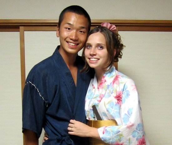 couple Asian interracial