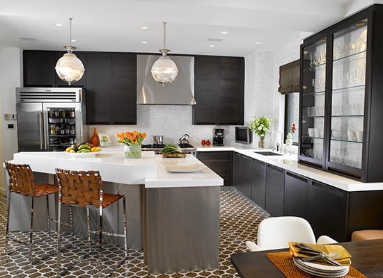 5 tips to design the perfect transitional kitchen huffpost - Key of create perfect contemporary style ...
