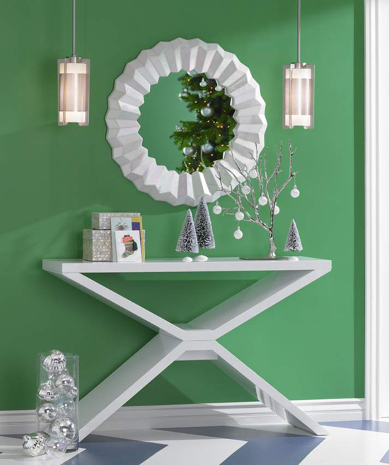 ... tips on how to decorate a console table can be applied to decorating
