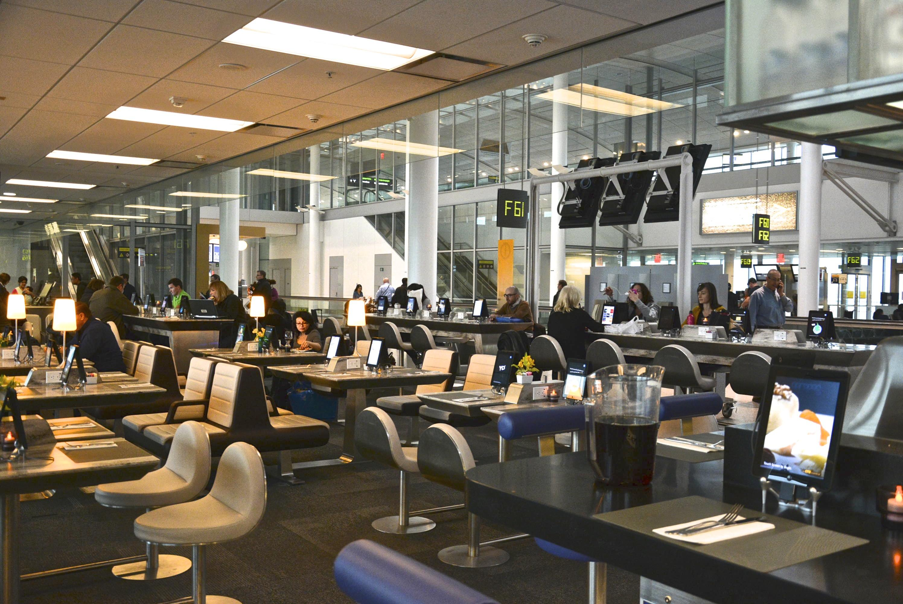 The chefs have landed at toronto 39 s pearson airport for International decor gates