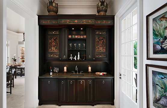 Bottoms Up! 9 Stylish Home Bars | HuffPost